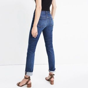 Madewell The Slim Boyjean: Raw-Hem Edition